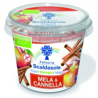 Yogurt magro mela-cannella